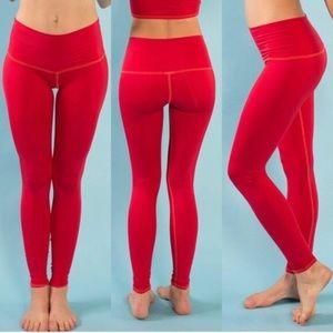 NWOT Teeki Red Hot Pants